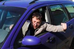 chaufför Fotografering för Bildbyråer