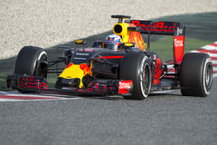 Chaufför Dani Ricciardo Team Red Bull Royaltyfri Bild