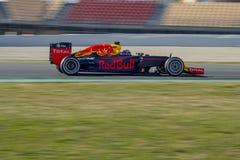 Chaufför Daniel Ricciardo Team Red Bull Royaltyfria Bilder