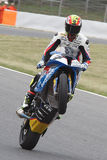 Chaufför Daniel Rivas Team Easyrace Arkivbilder