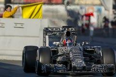 Chaufför Daniil Kvyat Team Red Bull Arkivbilder