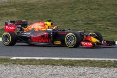 Chaufför Daniil Kvyat Team Red Bull Royaltyfri Foto