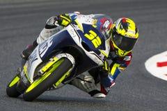 Chaufför ENEA BASTIANINI GRESINI som SPRINGER TEAM Moto Fotografering för Bildbyråer