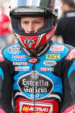 Chaufför Fabio Quartararo Team Estrella Galicia Royaltyfria Bilder