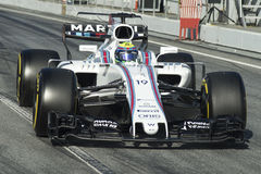 Chaufför Felipe Massa Team Williams Fotografering för Bildbyråer