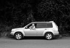 Chaufför i Abchazien Royaltyfria Foton