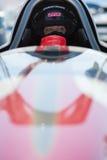 Chaufför i hans stång som är varm under världen av hastighet 2012. Royaltyfri Bild