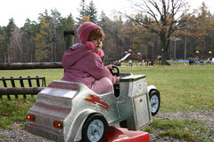 chaufför little Royaltyfri Foto