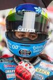 Chaufför Maria Herrera Team Estrella Galicia FIM CEV Repsol Royaltyfri Bild