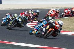 Chaufför Masia Vargas, Jaume Moto3 Cuna de campeones Lag fotografering för bildbyråer