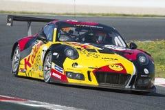 Chaufför Raymond Narac Porsche 991 GT3 Royaltyfria Foton