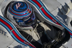 Chaufför Valtteri Bottas Team Williams Martini Arkivbilder