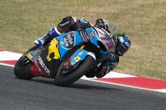 ChaufförALEX MARQUEZ EG. Marc Team arkivbild