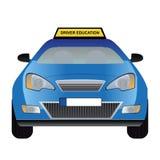 Chaufförutbildningsbil Royaltyfria Foton