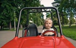 chaufför little Royaltyfria Bilder
