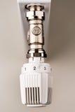 Chauffage de thermostat Images libres de droits