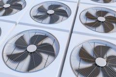 Chauffage, ventilation et climatisation d'unités de la CAHT 3D a rendu l'illustration Images stock