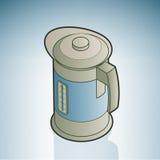Chauffe-eau électrique illustration de vecteur
