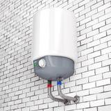 Chauffe-eau automatique moderne rendu 3d illustration stock
