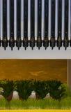 Chauffe-eau solaire Image libre de droits