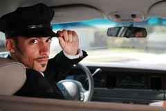 Chauffeur Fotos de Stock Royalty Free