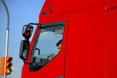 Chauffeur de camion Photo stock