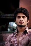 Chauffeur de camion dans l'Inde Images libres de droits