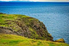 Chauffez de Galloway Rocky Seascape photos libres de droits