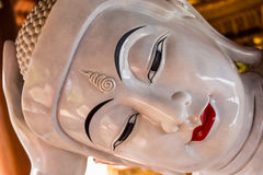 Chauk htat gyi reclining buddha (sweet eye buddha) Royalty Free Stock Images