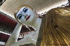 Chauk htat gyi reclining buddha Royalty Free Stock Photos