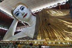 Chauk htat gyi reclining buddha Stock Image