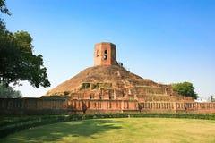 Chaukhandi Stupa fotografia stock libera da diritti