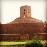 Chaukhandi Stupa Royaltyfri Fotografi