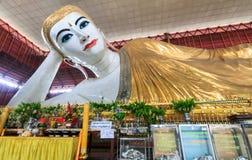 Chaukhtatgyi寺庙 图库摄影