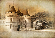 Chaumont castle Stock Images