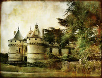 Chaumont castle Stock Photos