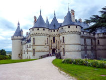 Chaumont castle Royalty Free Stock Images
