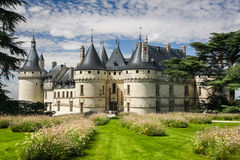 Chaumont castle. In Loire Valley, France Stock Photography