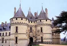 Chaumont chateau Royalty Free Stock Image