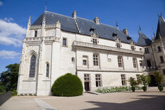 Chaumont Chateau courtyard Stock Photography
