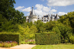 Chaumont Chateau postcard Stock Photography