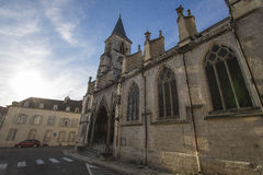 Chaumont, Haute-Marne, France Stock Image