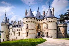 Chaumont on Loire Royalty Free Stock Photography