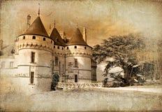 Chaumont-Schloss stockbilder