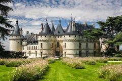 Chaumont-Schloss Stockfotografie