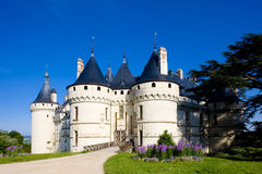 Chaumont-sur-Loire Castle. In Centre, France royalty free stock photography