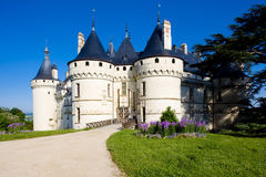 Chaumont-sur-Loire Castle Royalty Free Stock Images