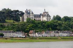 Chaumont-sur-Loire castle. Stock Image