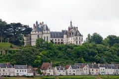 Chaumont-sur-Loire kasztel. zdjęcie royalty free