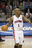 Chauncey Billups Sets The Offense Royalty Free Stock Images